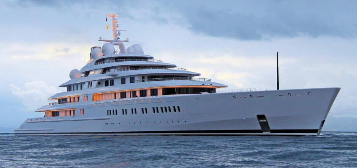 These Are The Largest Private Megayachts That Roam The Seas